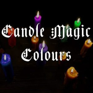 candle magic colours, australian witchcraft blog