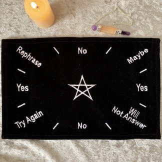 Black velvet pendulum mat, Australian witchcraft supplies, Adelaide witchcraft store, free witchcraft spells, tarot readings, witchcraft blog, wholesale witchcraft, witchcraft shop, witchcraft supplues