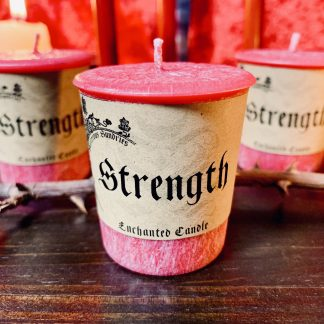strength candle, australian witchcraft supplies, adelaide witchcraft store, free witchcraft spells, adelaide tarot reader, online tarot reader, witchcraft blog, witchcraft shop