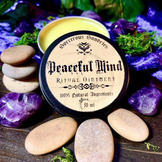 Peaceful mind ointment, australian witchcraft supplies, adelaide witchcraft shop, free witchcraft spells, witchcraft blog, adelaide tarot reader, online tarot, witchcraft shop