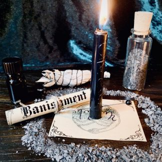 Banishment spell box, australian witchcraft supplies, adelaide witchcraft store, free witchcraft spells, witchcraft blog, adelaide tarot reader, online tarot, spellbox, witchcraft shop