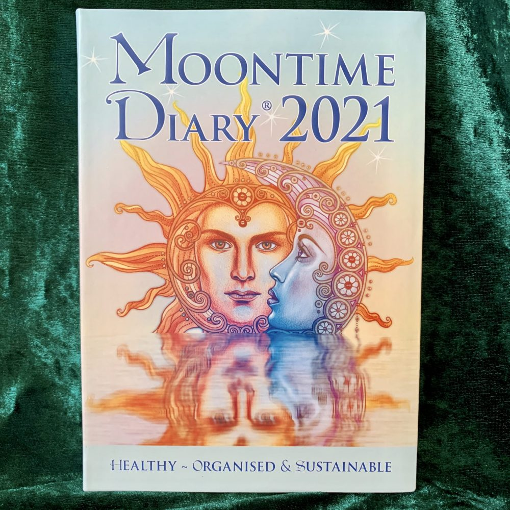 Moontime Diary 2021, australian witchcraft supplies, free witchcraft spells, adelaide witchcraft store, witchcraft blog, moontime, moon diary, wholesale witchcraft