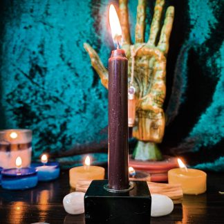 Brown chime candles, Australian witchcraft supplies, adelaide witchcraft store, free witchcraft spells, witchcraft blog, witchcraft shop, witchcraft supplies