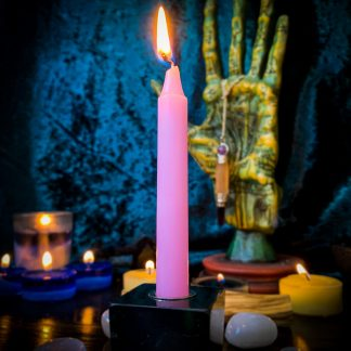 Pink chime candles, Australian witchcraft supplies, adelaide witchcraft store, free witchcraft spells, witchcraft blog, tarot readings, witchcraft shop, witchcraft supplies