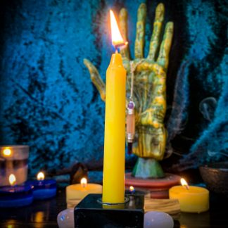 Yellow chime candles, Australian witchcraft supplies, adelaide witchcraft store, free witchcraft spells, witchcraft blog, tarot readings, witchcraft. Shop, witchcraft supplies