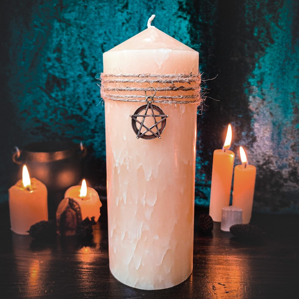 Beeswax blended altar candle, australian witchcraft supplies, adelaide witchcraft store, free witchcraft spells, witchcraft blog, wholesale witchcraft, pagan australian, pagan supplies, beeswax candles, witchcraft shop,