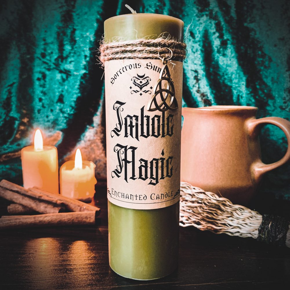 Imbolc candle, australian witchcraft supplies, adelaide witchcraft store, free witchcraft spells, witchcraft blog, wholesale witchcraft, spellbox, spell box, online tarot, adelaide tarot reader, witchcraft shop