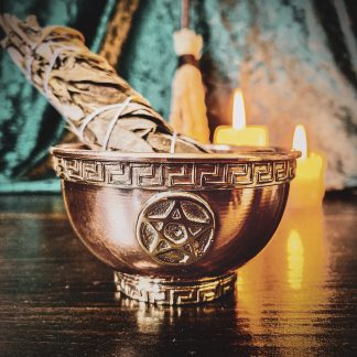 Copper Pentagram Offering Bowl, Australian witchcraft supplies, adelaide witchcraft store, free witchcraft spells, witchcraft store, witchcraft blog, wholesale witchcraft