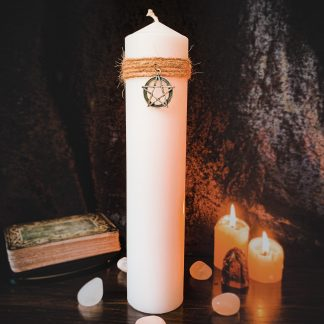 White altar candle, australian witchcraft supplies, adelaide witchcraft store, witchcraft blog, free witchcraft spells, tarot readings, adelaide tarot reader, wholesale witchcraft witchcraft store, pagan supplies, pagan australia