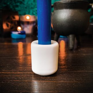 White chime candle holder, aust4ralianw itcrhaft supplies, adelaide witchraft store, free witchraft spells, witchraft blog, tarot readings, witchraft shop, witchraft suppolies