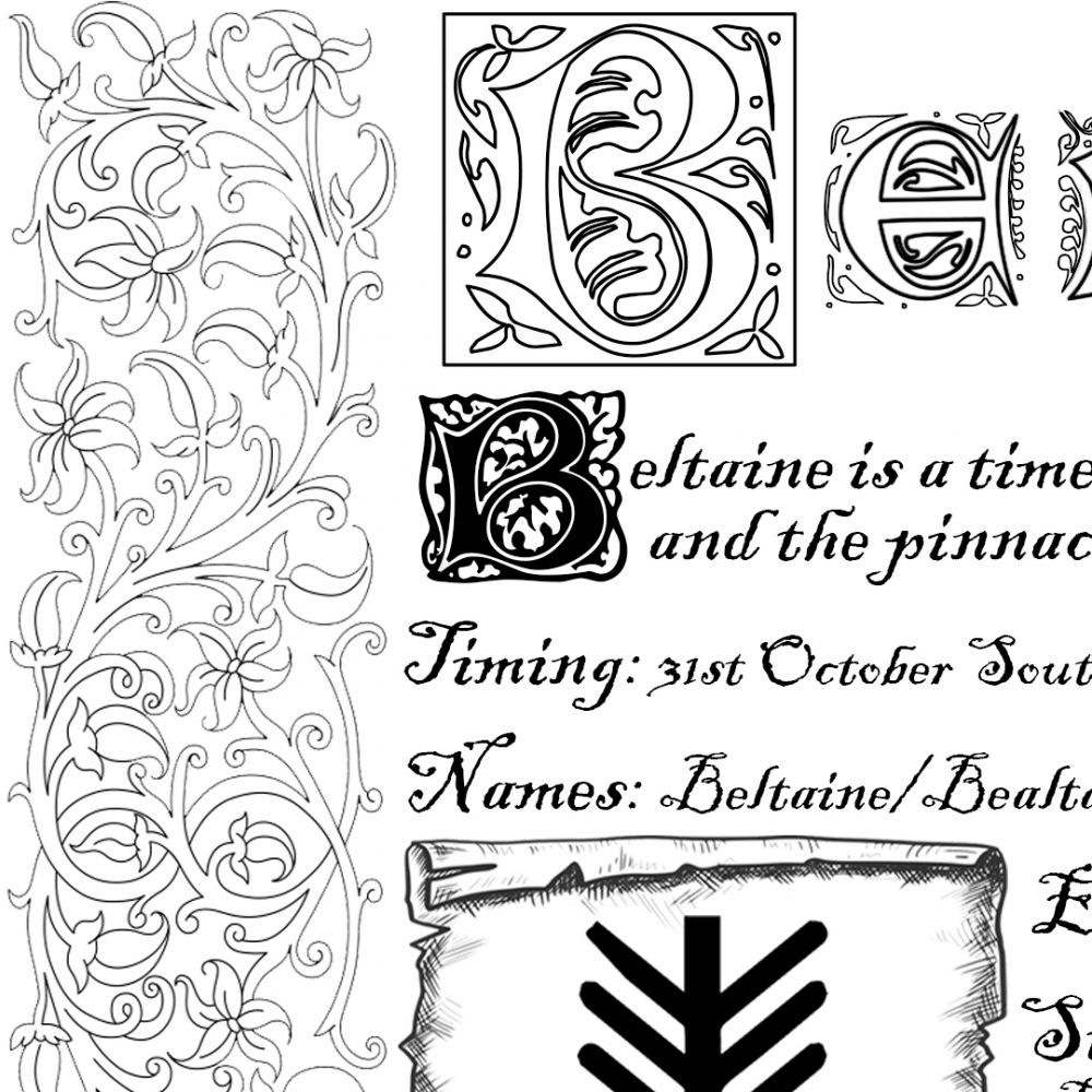 beltaine grimoire page, australian witchcraft supplies, adelaide witchcraft store, free witchcraft spells, witchcraft blog, wholesale witchcraft, spell page