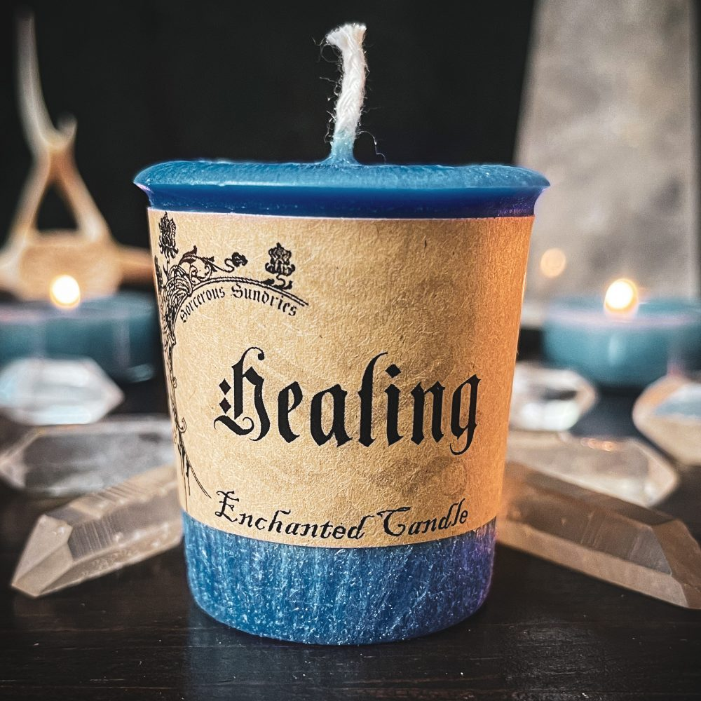 Healing spell candle, australian witchcraft supplies, adelaide witchcraft store, witchcraft blog, wholesale witchcraft, witchcraft shop, pagan supplies, spall candles, magic candles