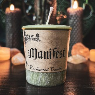 Manifest spell candle, australian witchcraft supplies, adelaide witchcraft store, free witchcraft spells, witchcraft blog, adelaide tarot reader, online tarot, witchcraft shop