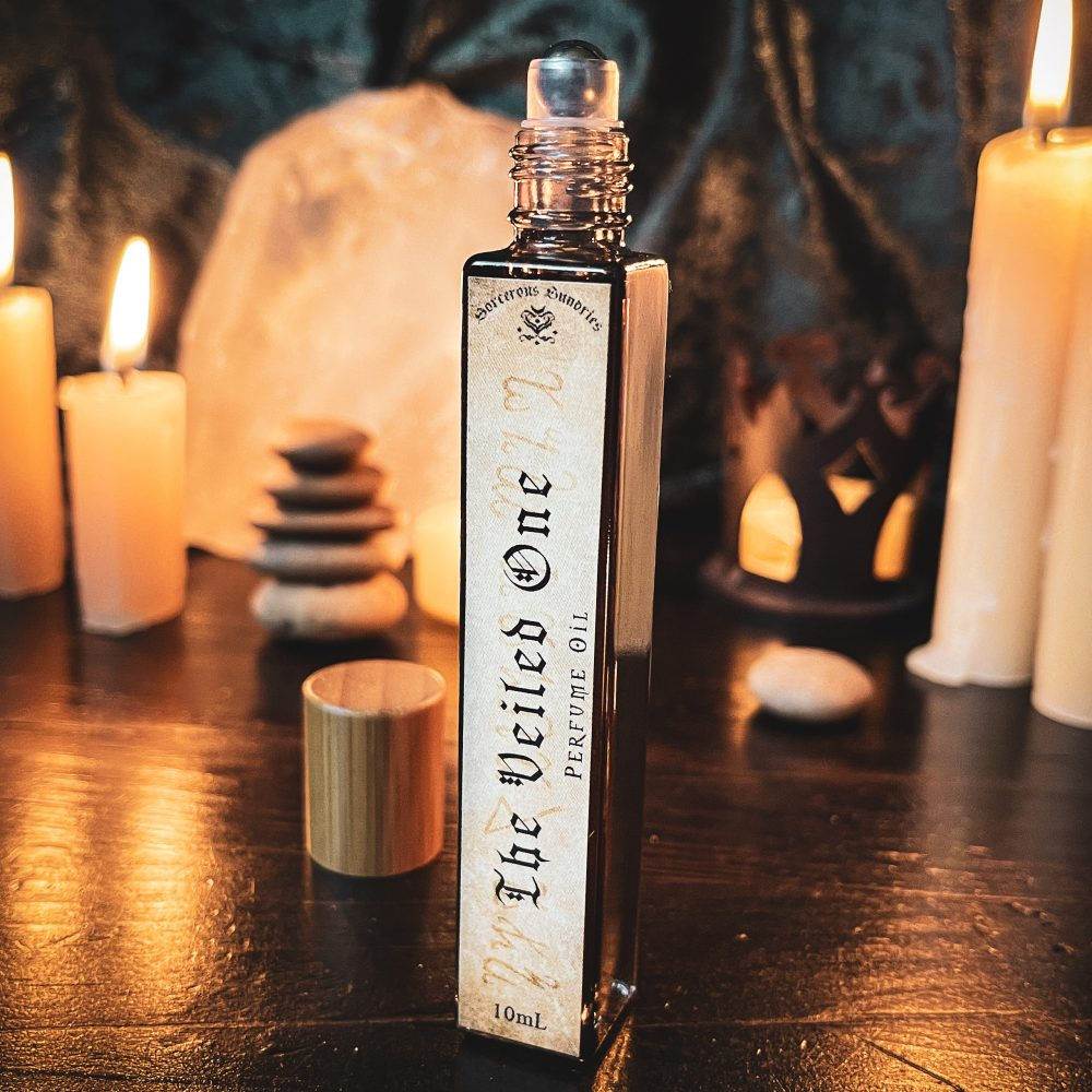 The Veiled One Perfume, australian witchcraft supplies, pagan supplies, celtic pagan australian, witchcraft shop, wholesale witchcraft