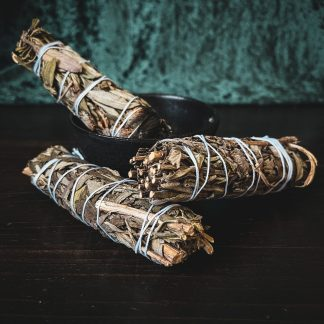 black sage cleansing wand, australian witchcraft supplies, pagan supplies australia, witchcraft shop, adelaide witchcraft store
